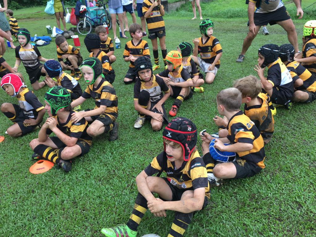 SCC Rugby Academy U9 team